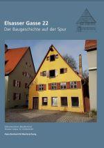 """Broschüre """"Elsasser Gasse"""" - Der Baugeschichte auf der Spur"""